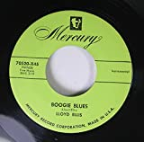BOOGIE BLUES / BLUE CHAMPAGNE (45/7