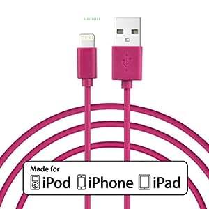 Ledona lotes de 2MFI Apple iPhone 65S Lightning USB Cable de datos cargador