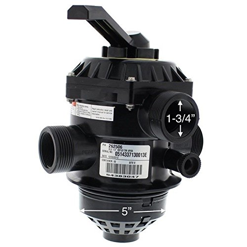 Pentair 262506 6-Way Clamp Style Valve Replacement Pool or Spa Sand Filter by Pentair