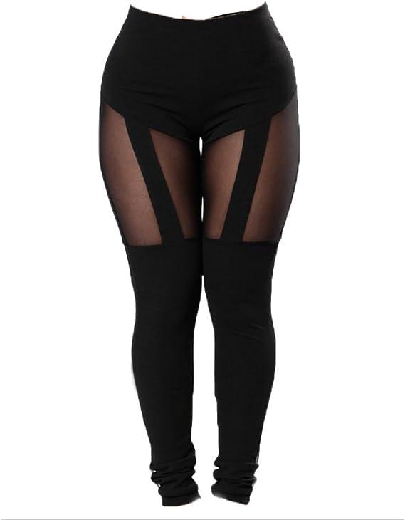Amazon.com: Comcrib - Mallas deportivas ajustadas para mujer ...