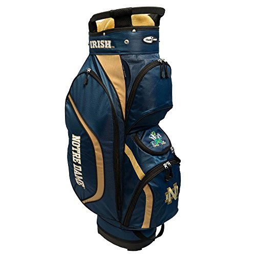 Team Golf NCAA Clubhouse Cart Bag, Notre Dame by Team Golf
