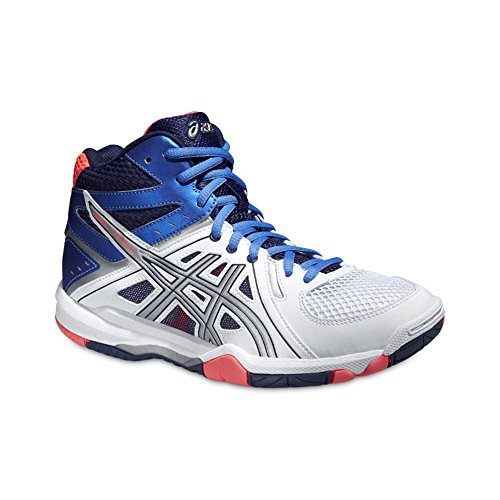 Asics Turnschuhe Mt White Coral Gel Powder Damen Task Flash Blue rqw4Or