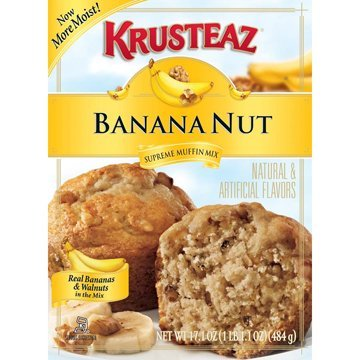 Krusteaz Banana Nut Muffin Mix (Pack of 2) ()