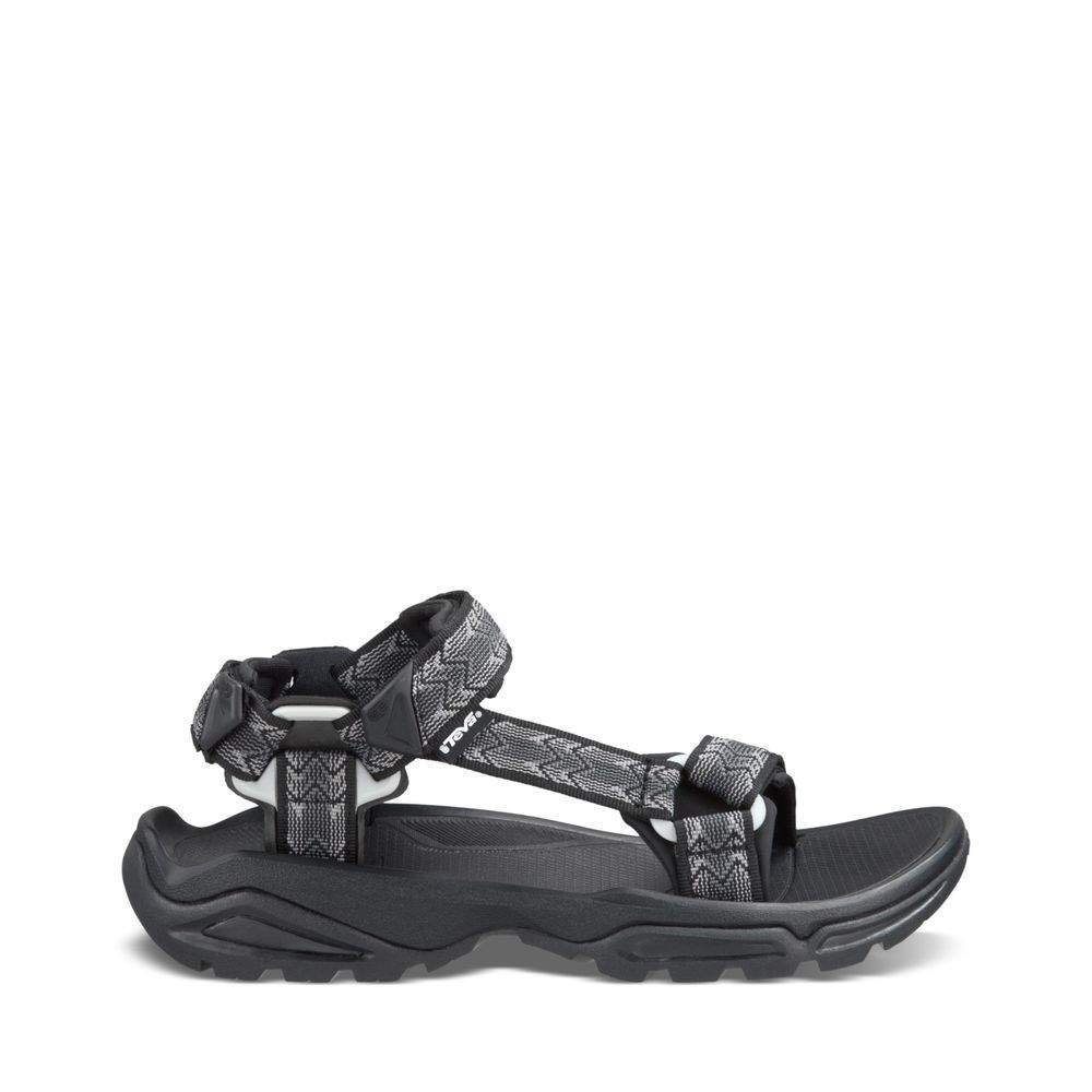 Teva Men's Terra FI 4 Sandal, Cross Terra Black, 12 M US by Teva