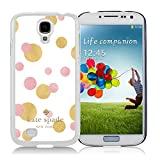 Samsung Galaxy S4 Kate Spade White 018 screen phone case sweet and beautiful design