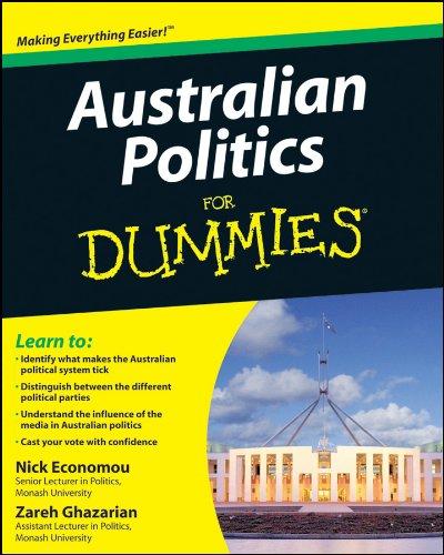 Australian Politics For Dummies (For Dummies Series)