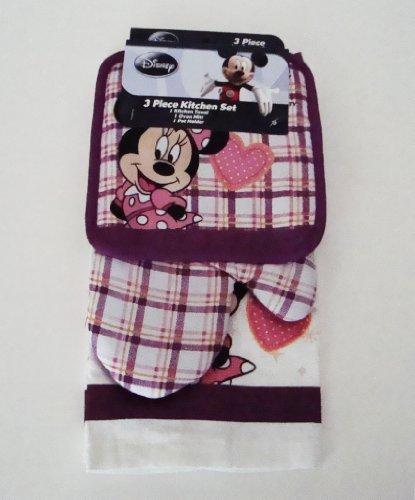 Disney Minnie Mouse Plaid & Polka Dot Stars Kitchen ()