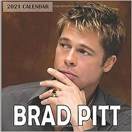 Amazon.com: Brad Pitt 2021 Calendar: Brad Pitt 2021 Wall Calendar