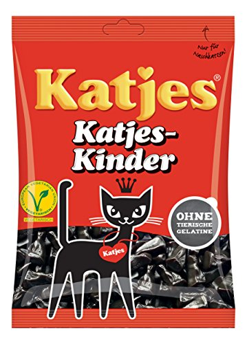 Katjes Licorice (Kinder Licorice Cat-Shaped Drops 200g licorice pieces by Katjes)