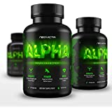 Best Booster Supplement - Alpha by Neovicta - All Natural Male Enhancement, No Testosterone Imitation - Improve Size, Strength, Energy, Libido & Athletic Performance - Liver & Kidney Aid - 60 Count