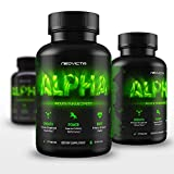 Best Testosterone Booster Supplement - Alpha by Neovicta - Increase Muscle, Strength, Energy & Athletic Performance - Liver & Kidney Aid - 60 Count