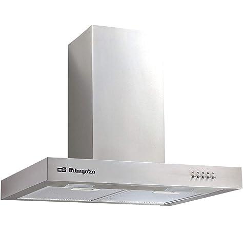 Cata extractora | Modelo SYGMA 700 extracción | Campana estractora Cocina 850m3/h-340m3/h | Acabado en Acero inoxidable, 3 Velocidades: 181.95: Amazon.es: Grandes electrodomésticos
