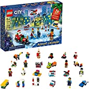 LEGO City Advent Calendar 60303 Building Kit; Includes City Play Mat; Best Christmas Toys for Kids; New 2021 (