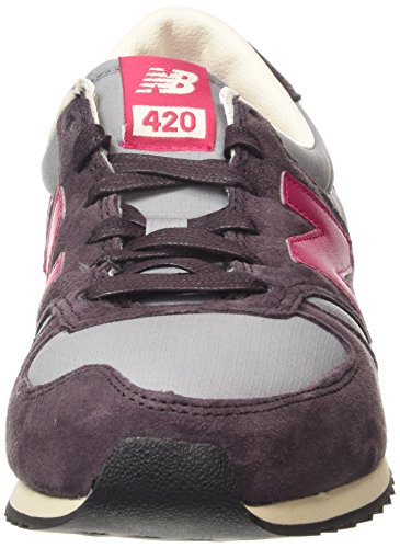 New Balance 420, Zapatillas Unisex Morado (Purple/Pink/Grey)