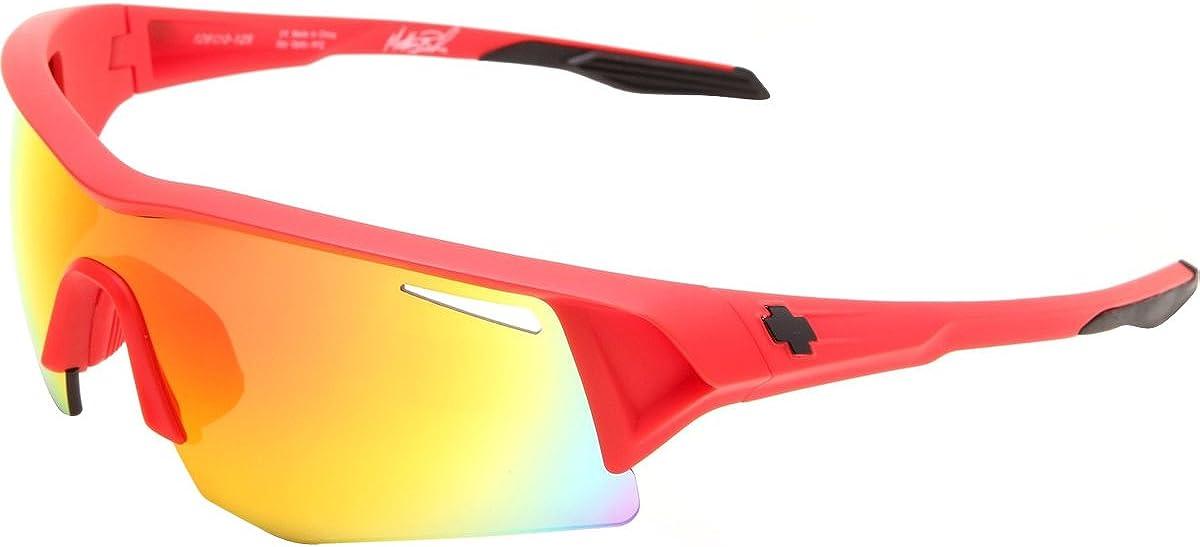 Spy Optic Unisex Screw Matthew Busche Sunglasses Bronze w//Red Spectra OS