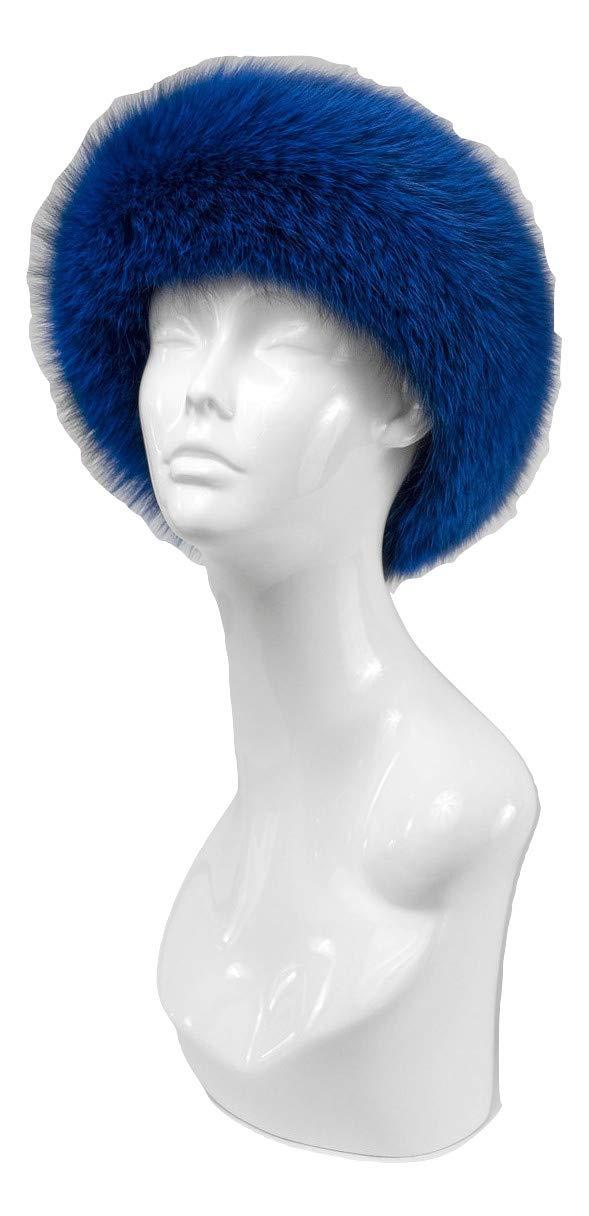 Fur Traders Womens Genuine Fox Fur Headband by Mitchies Matchings (Image #1)