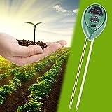 Lznlink 3 In 1 Soil PH Meter Detector Moisture Light Analized Temperature Tester For Garden Plants Flower Farming Agriculture