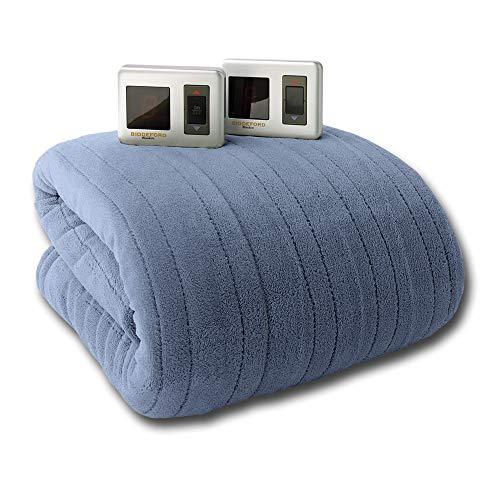 Biddeford MicroPlush King Electric Blanket with Digital Dual