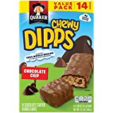 Quaker Chewy Dipps Chocolate Chip Granola Bars, 14 Count