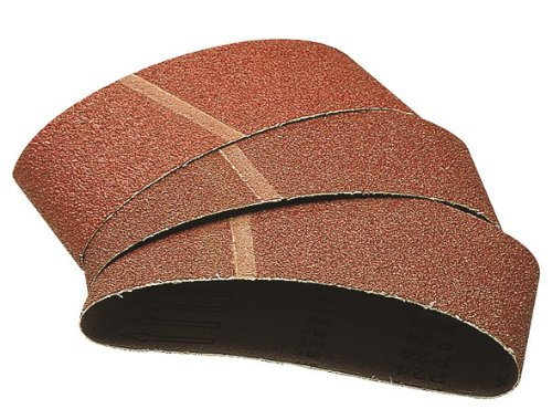 Wolfcraft 1923000-3 x Bandes abrasives Grain 180 75 x 533 mm