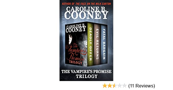 Amazon The Vampires Promise Trilogy Deadly Offer Evil