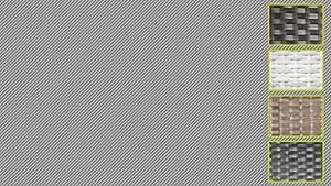 talfa Asiento KL. Cube taburete/mesa, modelo 2014, steingrau