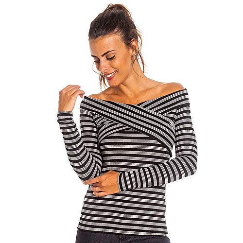Blusa Stripes Feminino Hang Loose Listrado - M
