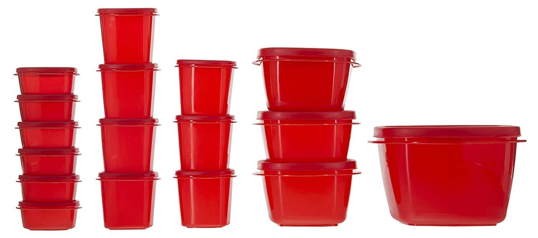 30% Off – Kitchen Storage Container Set – 17 Pieces