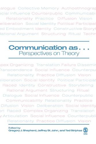 Communication As....