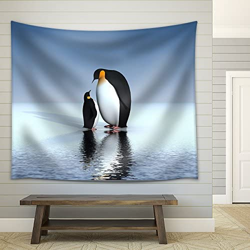 Fun Penguins Fabric Wall