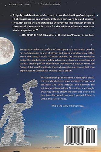 40 Winks A Narcoleptics Journey Through Sleep Dreams