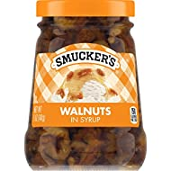 Smucker's Walnuts in Syrup Topping, 5 Ounces (Pack of 6)