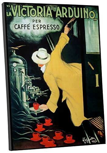 Pingo World 0616QPXD5ZS Caffe Victoria Arduino Vintage Advertising Poster Gallery Wrapped Canvas Wall Art Print 45 x 30 20 x 16 Variable