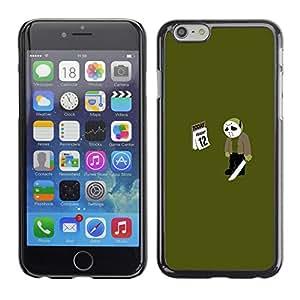 Apple (5.5 inches!!!) iPhone 6+ Plus / 6S+ Plus - Metal de aluminio y de plástico duro Caja del teléfono - Negro - Friday 12 13 Jason - Funny Meme
