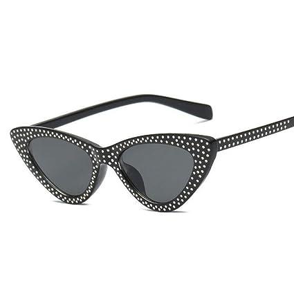 OME&QIUMEI Ojo De Gato Gafas De Sol Moda para Mujer Gafas De ...