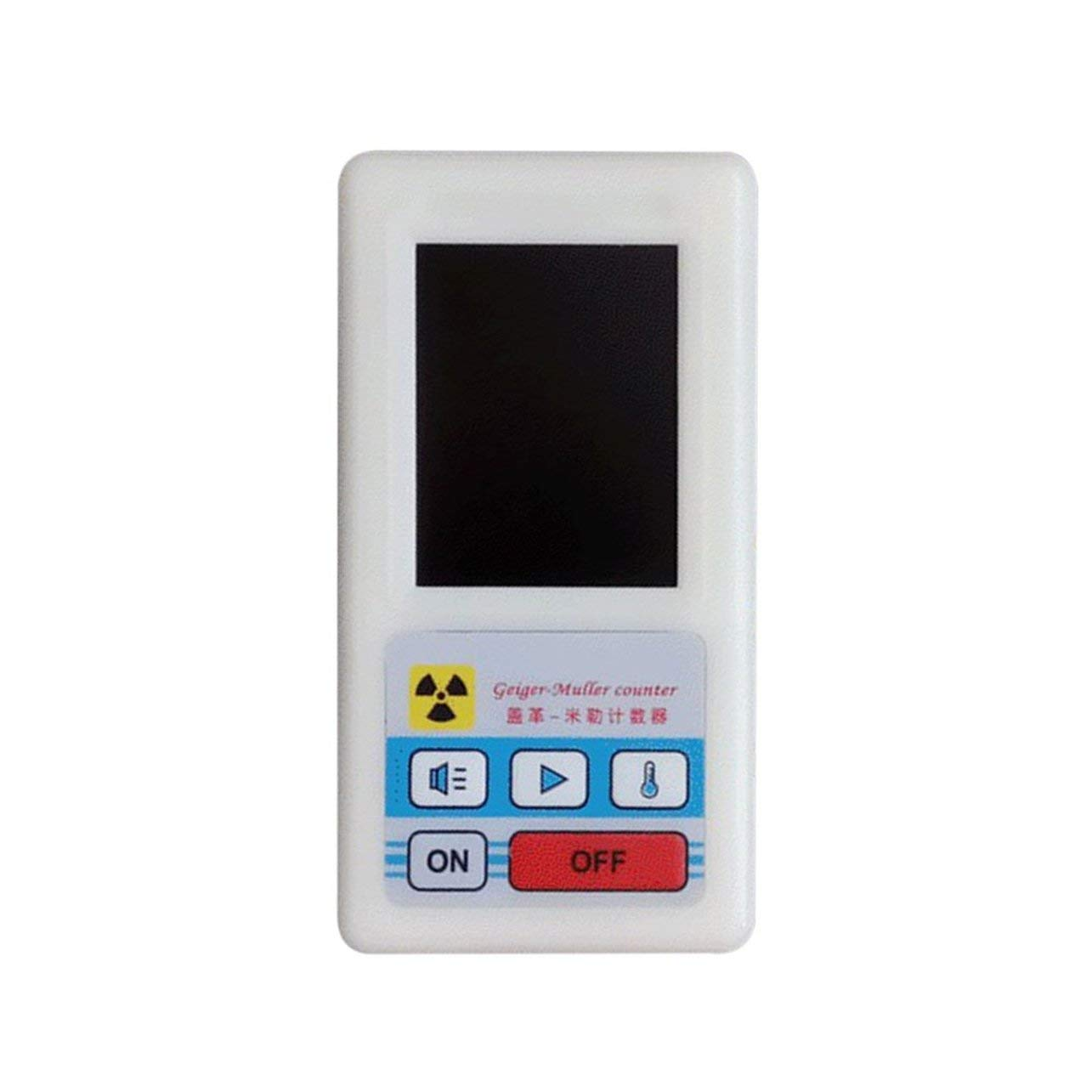 Counter Nuclear Radiation Detector Display Screen Dosimeter Geiger Counters(Color:White) WOSOSYEYO