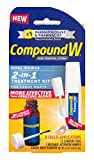Compound W 2-in-1 Wart Removal Kit | Liquid Wart