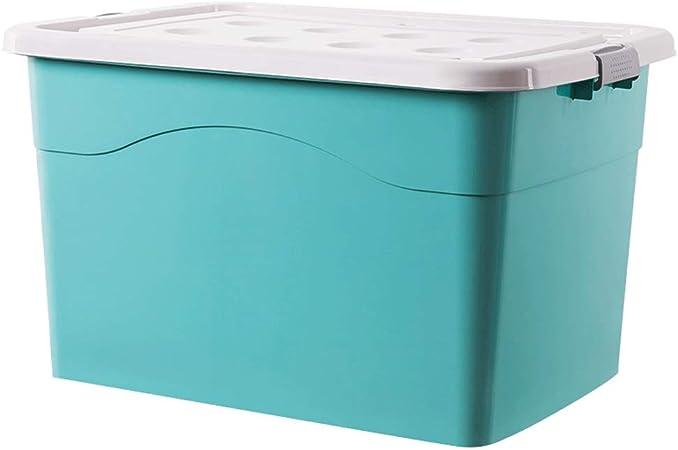 X-L 80 litros de plástico Caja-Extra Grande-contenedor de Almacenamiento, Robusta y Ligera, apilable, de plástico Caja de Almacenamiento, Perfecto for escuelas, oficinas y Juguetes for niños: Amazon.es: Hogar