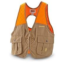 Gamehide Gamebird Ultra-Light Vest (Tan/Orange, Large)