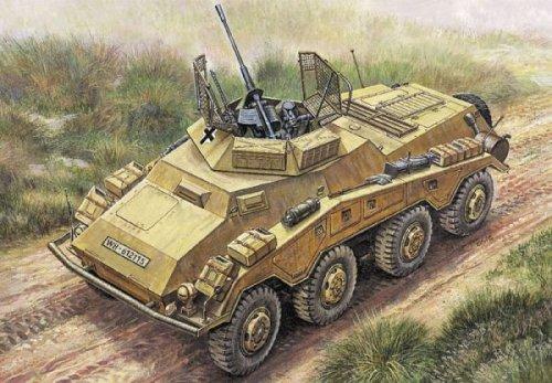 タミヤ イタレリ 294 1/35 Sd.kfz.234/1重装甲偵察車2cm砲型 プラモデルの商品画像