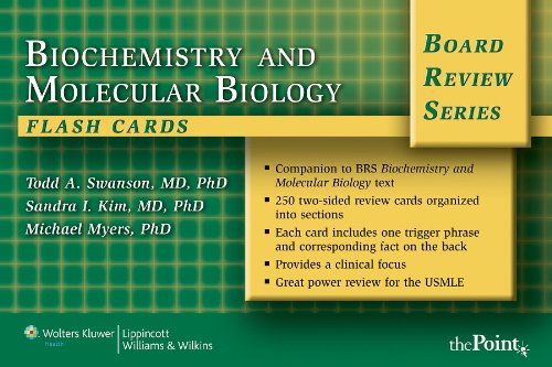 BRS Biochemistry and Molecular Biology Flash Cards, Revised (Board Review Series)