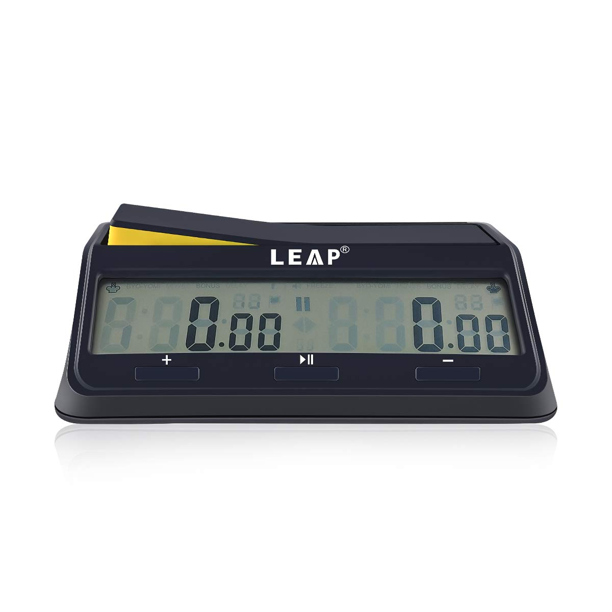 LEAP Chess Clock Digital Timer Advanced for Game and Chess Timer with Bonus /& Delay Countdown Alarm