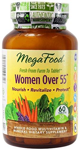 MegaFood женщин старше 55 поливитаминных таблеток, 60 граф (Premium упаковка)