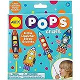 ALEX Toys Craft Pops Little Launcher Straw Rockets
