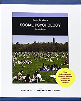 Social psychology 11th edition | rent 9780078035296 | 0078035295.