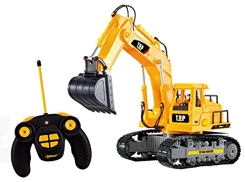 top-race-7-channel-full-functional-rc-excavator-battery-powered-electric-rc-remote-control-construct