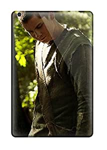 Rugged Skin Case Cover For Ipad Mini- Eco-friendly Packaging(noah Movie Pictures, Log Logan Lerman) 6122354I68784576