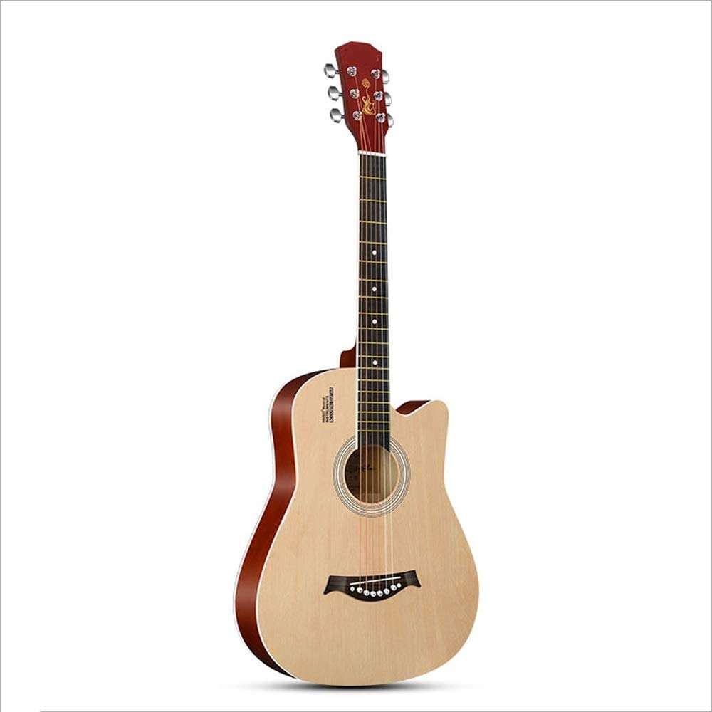 Aigliady Guitarra acústica de 38 pulgadas Principiante minimalista ...