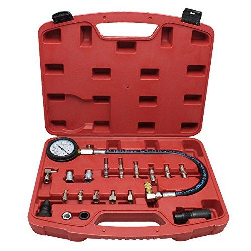 HG® Tester Compressione Motori Diesel Tester di compressione Benzina Meter compressione Diesel Tester Set huigou