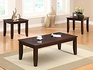 Fine Amazon Com Brand New 3 Pk Vincent Coffee Table And End Pdpeps Interior Chair Design Pdpepsorg